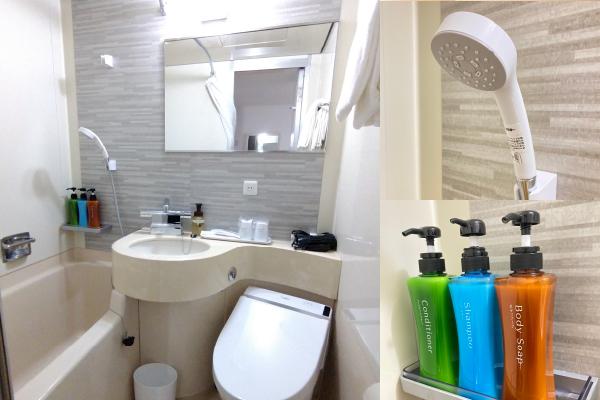 清潔感溢れるバスルーム