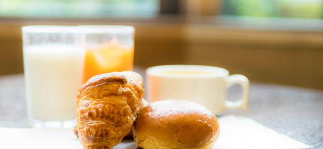 無料朝食のご案内