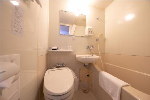 シングルルーム/バス・トイレ